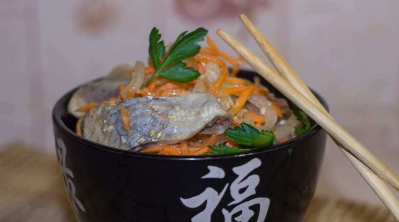 Рыба по-корейски