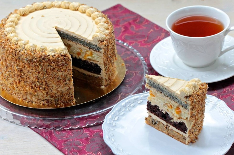 Торт Сметанная королева