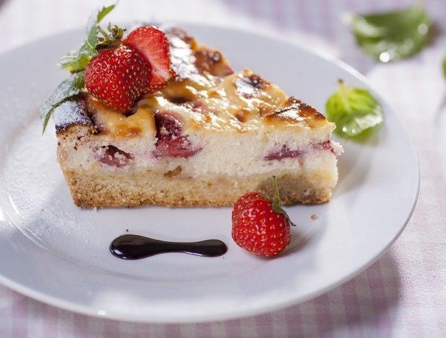 Творожное пирожное – королевская ватрушка