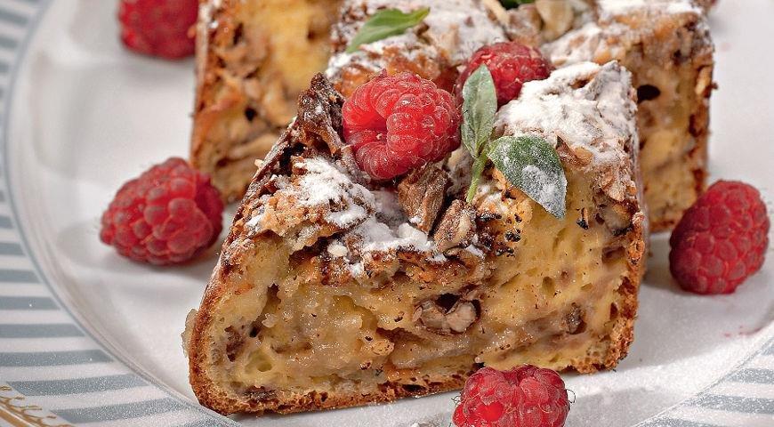 Овсяные кексы с орехами и ягодами