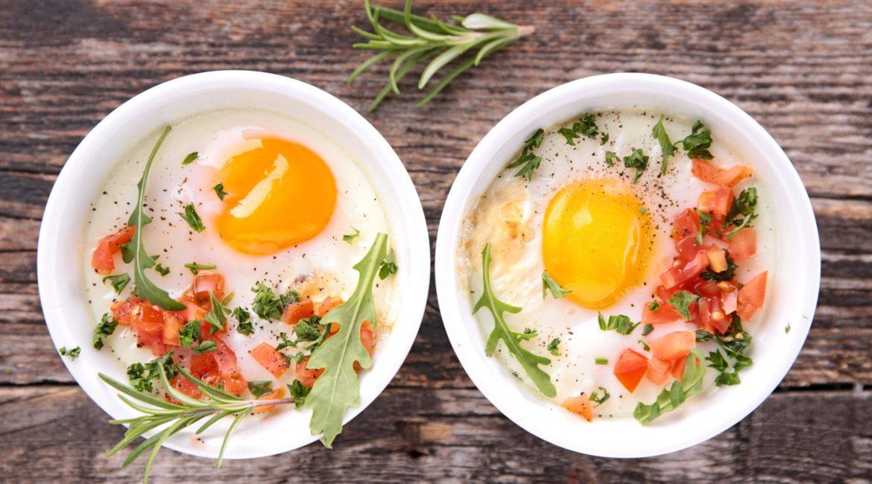4 простых блюда из двух яиц