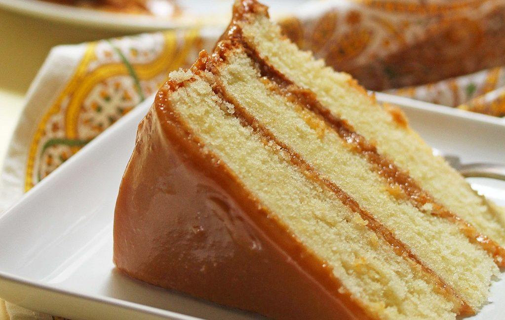 Торт Маша на сгущёнке