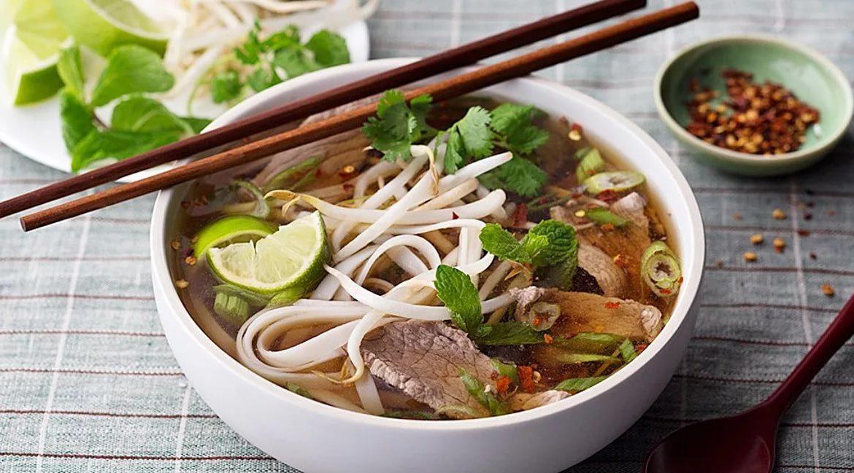 Тайский суп пхо