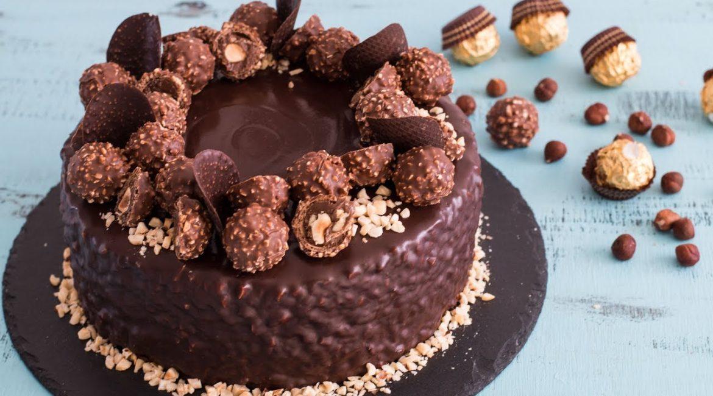 Торт Ferrero Rocher