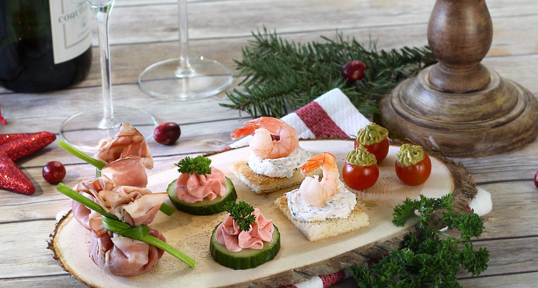 Закуски для новогоднего стола
