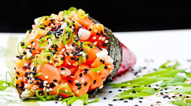 Шаурма рол в суши стиле