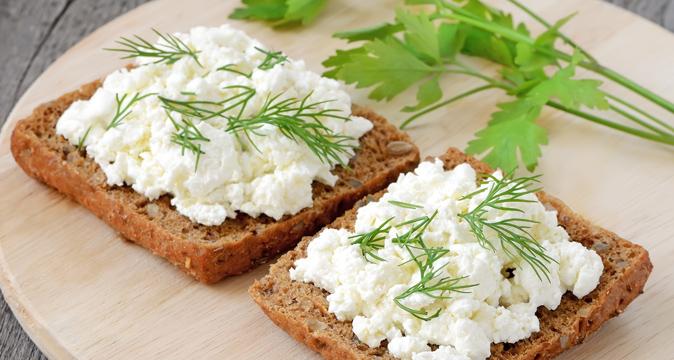 Бутерброды с творогом - идеи полезного завтрака