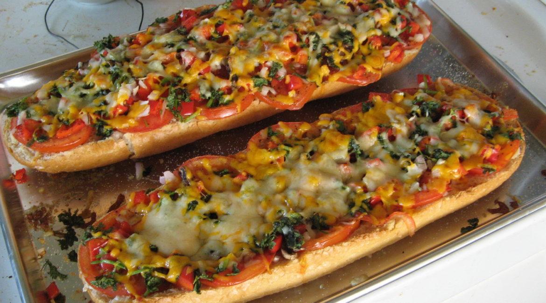 Горячий бутерброд Ленивая пицца