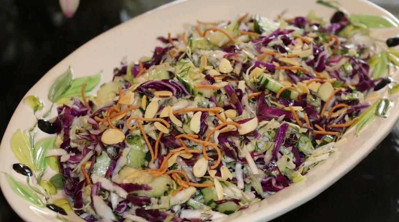 Лёгкий капустный салат