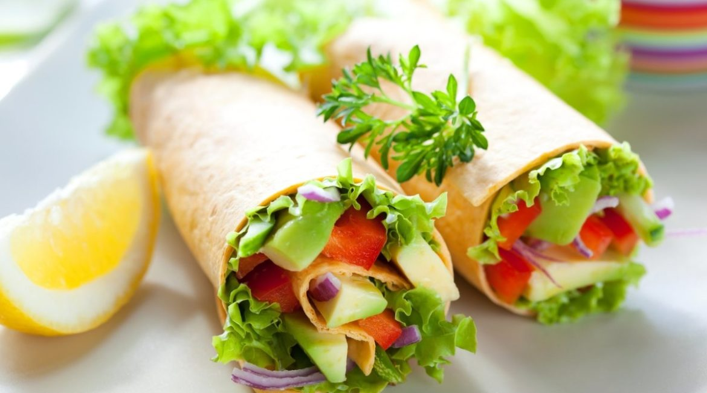 Вегетарианская шаурма