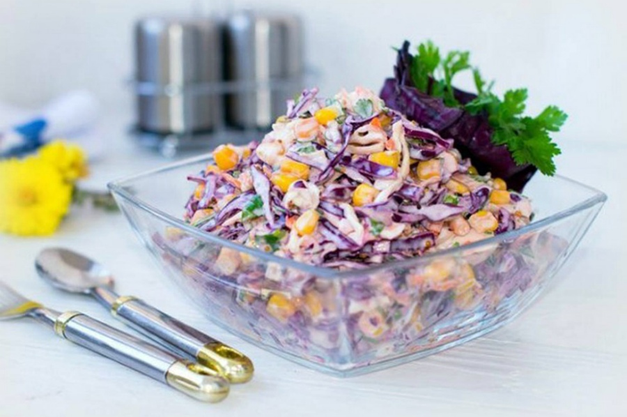 Салаты с овощами