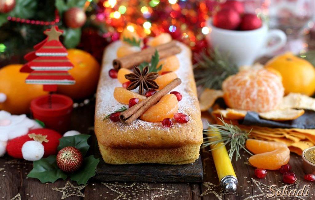 3 шикарных апельсиновых кекса на Рождество