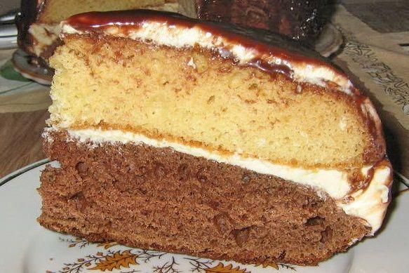 Торт Отелло и Дездемона