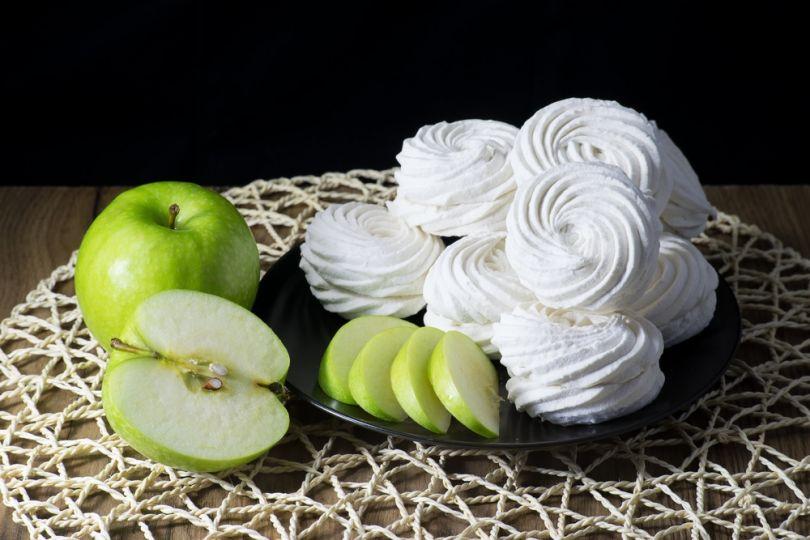 Домашний яблочный зефир