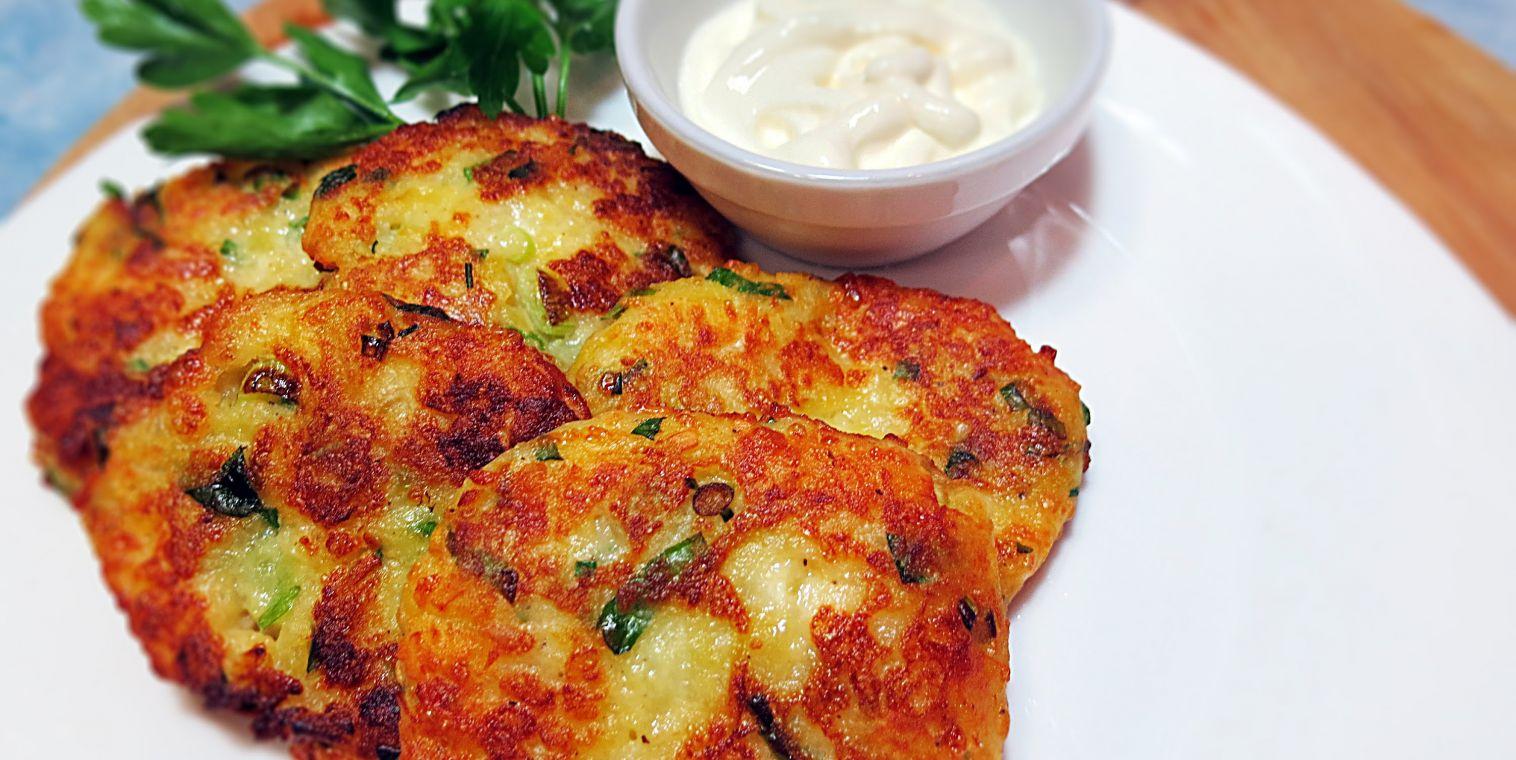Лепёшки картофельные