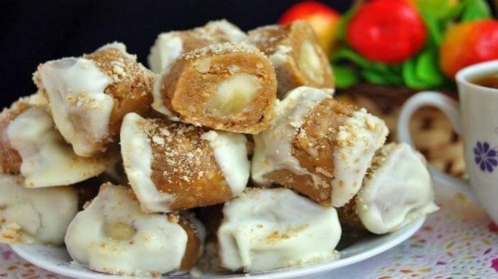Банановые конфеты за 30 минут