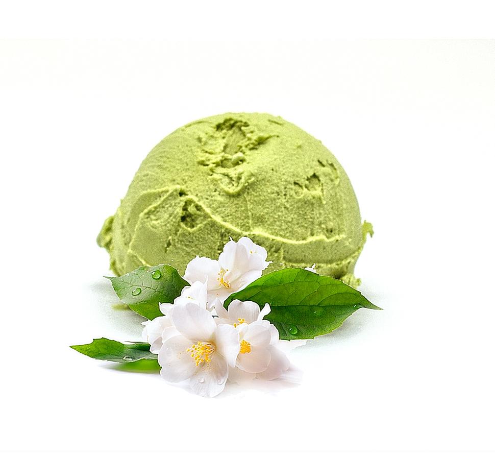 Мятное мороженое с жасмином
