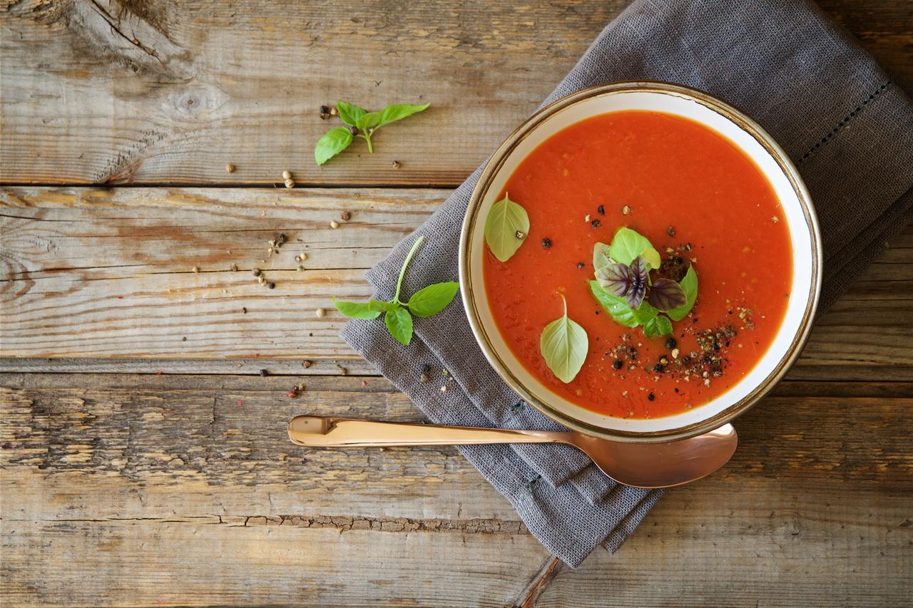 Томатный суп из кильки