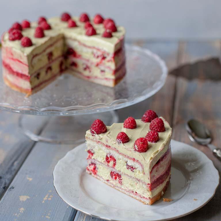 Торт Малиновое счастье
