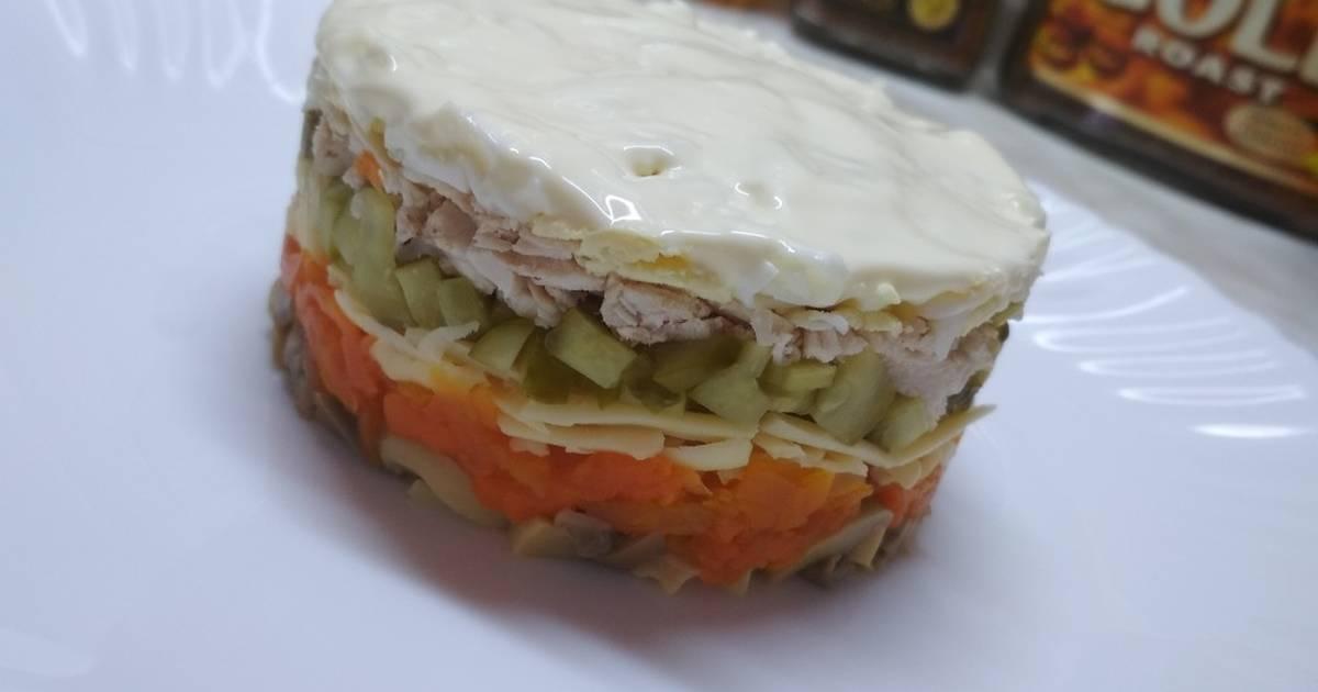Салат Мельник