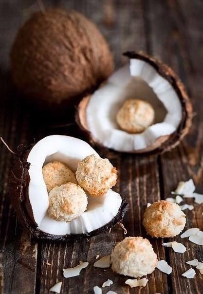 Кокосовое печенье без муки, масла, яиц