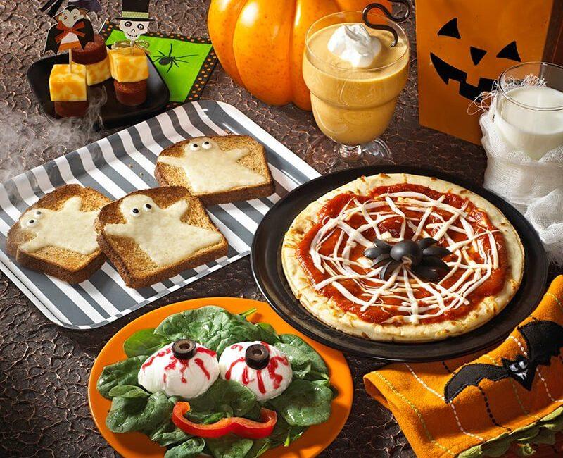 3 рецепта для Хэллоуина