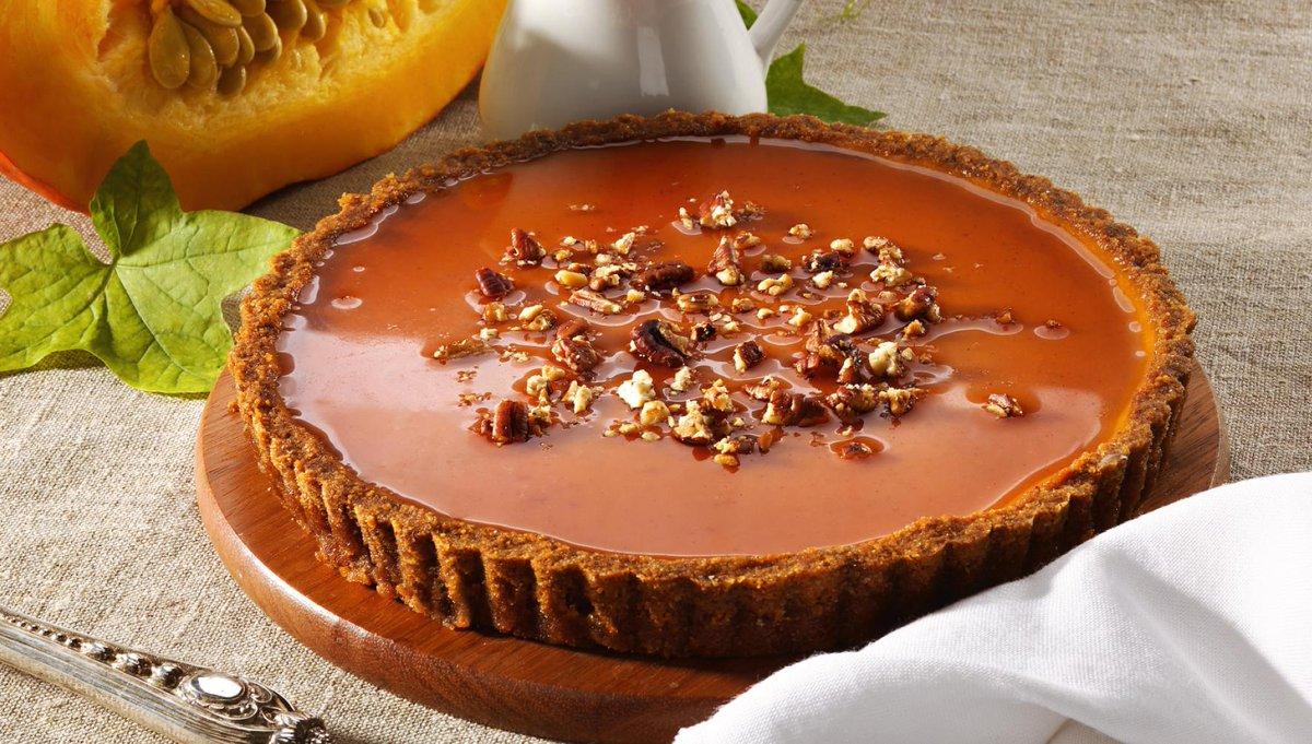 Тыквенный пирог с пеканом