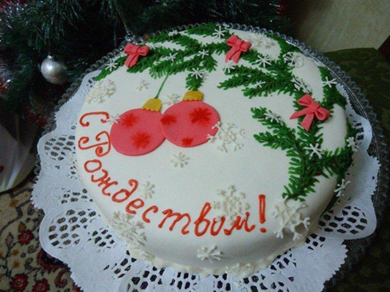 Торт Рождественская ёлочка