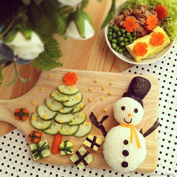 Новогодний кулинарный юмор